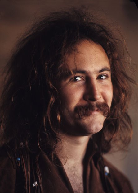 Tales of Rock – David Crosby Rams Car into a Wall While High and Armed