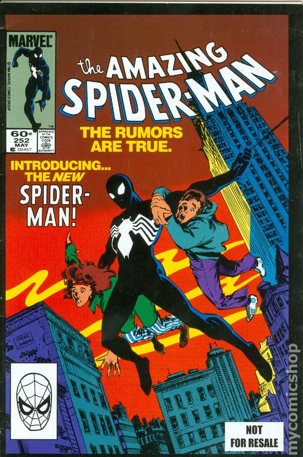 My Young Life: The Amazing Spider-Man #252