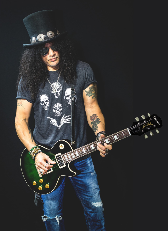 Tales of Rock – Slash Is A Gigantic Dinosaur Nerd