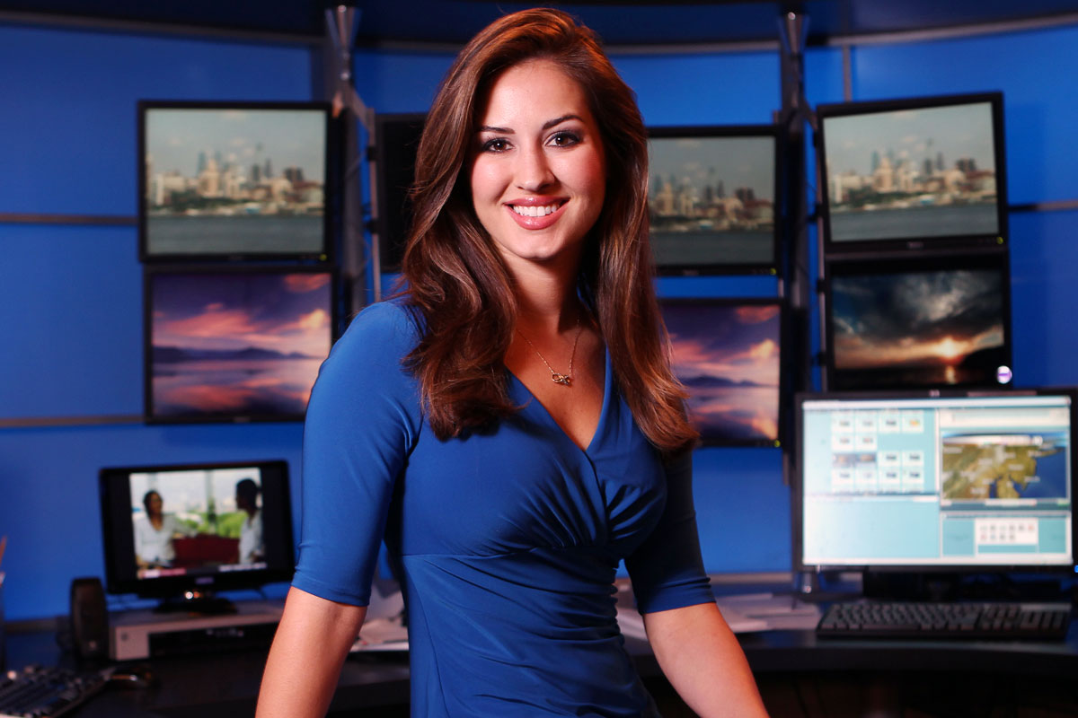 Celebrity Sightings – Sheena Parveen – Philly Weather Girl -Part 1