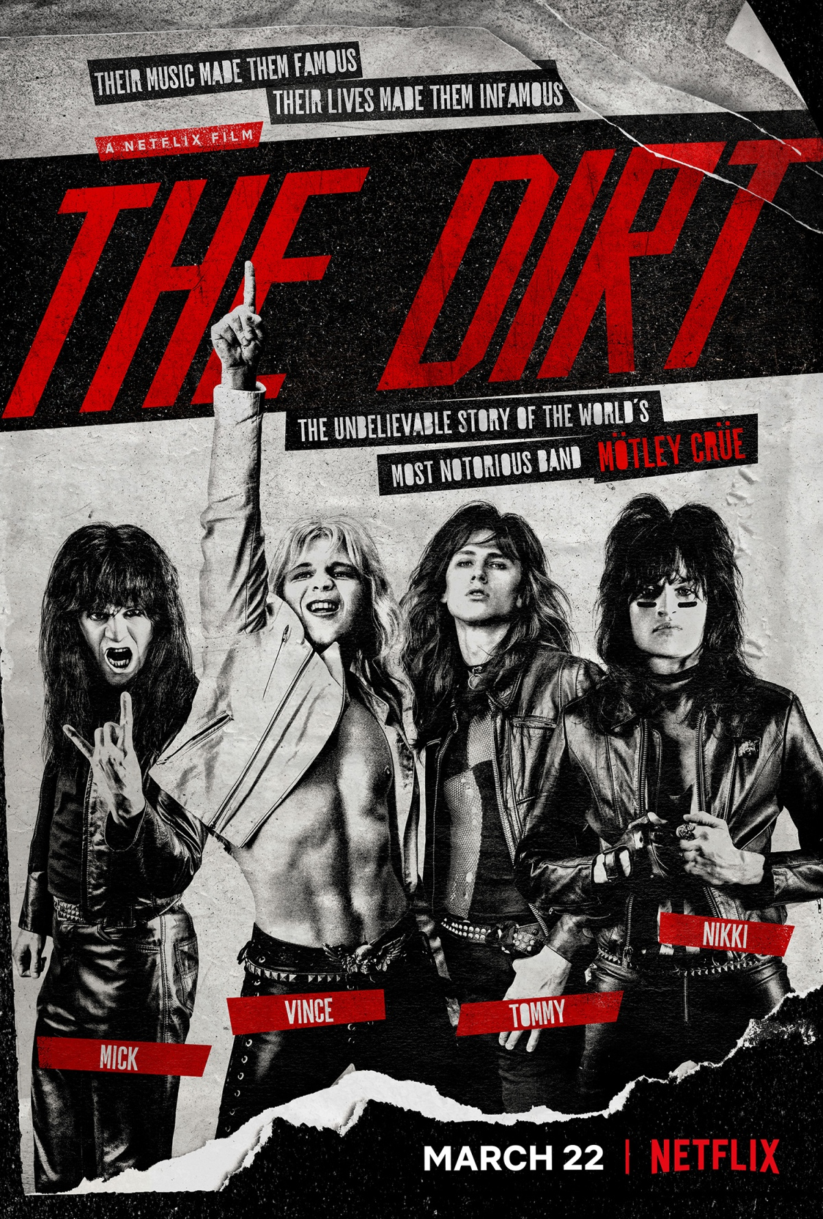 Tales of Rock – MÖTLEY CRÜE Movie 'The Dirt' Is Hated By Critics, Loved By Fans, Says NIKKI SIXX