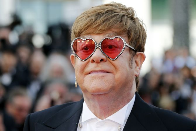 Tales of Rock: Elton John Admits It's 'Difficult To Watch' His Drug Addiction In 'Rocketman' Scenes