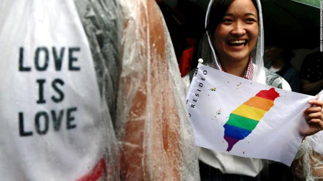Taiwan legalizes same-sex marriage in a historic first forAsia