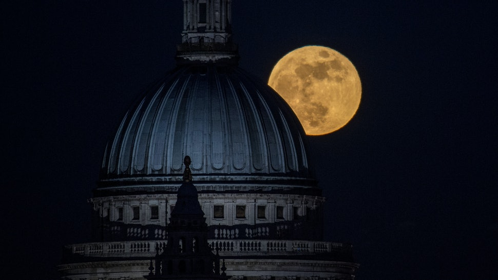 What The April 2020 Pink Supermoon Could Mean For Your Relationships