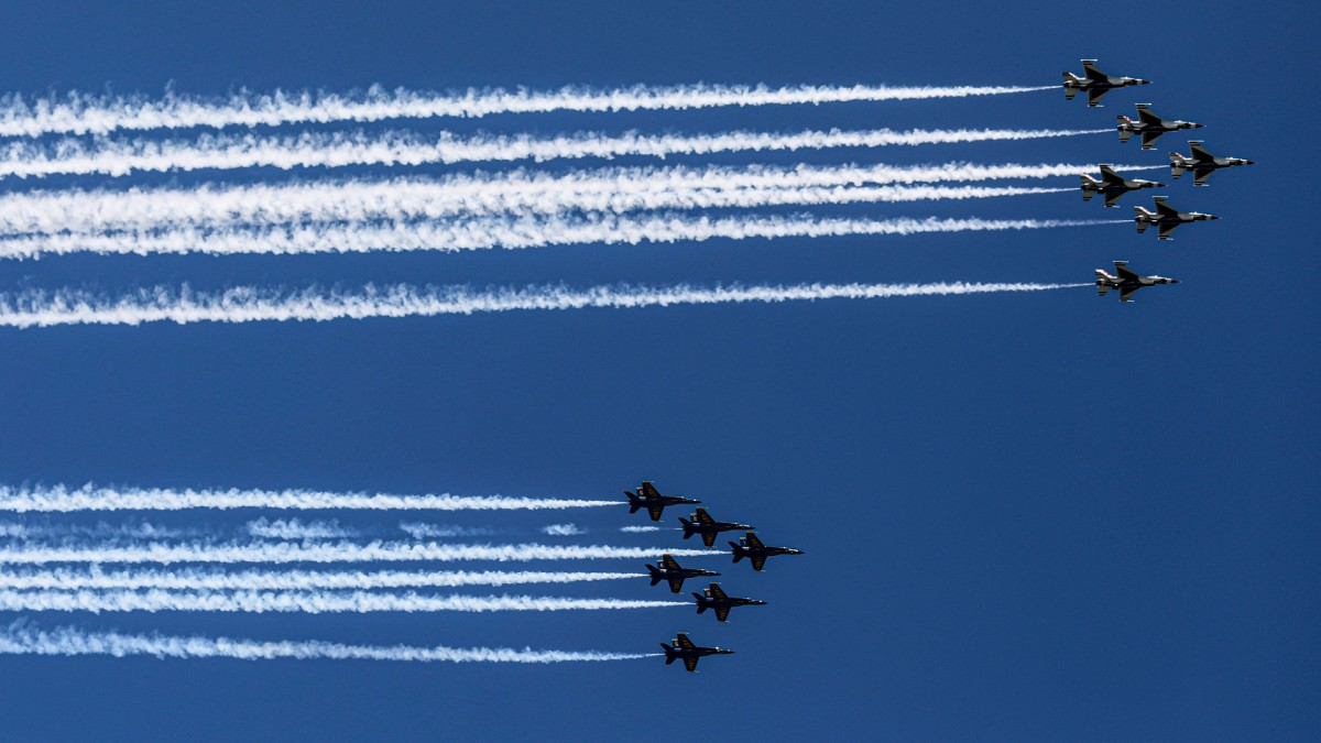 Philly Coronavirus News: Thousands Violate Stay-at-Home Order to Watch Dirt-Stupid Fighter Jet Flyover