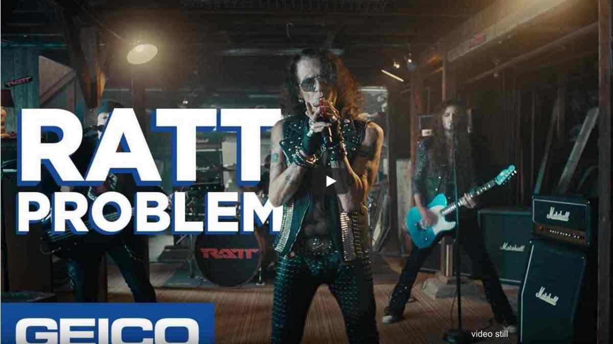 Tales of Rock – Ratt Star In New GEICOCommercial